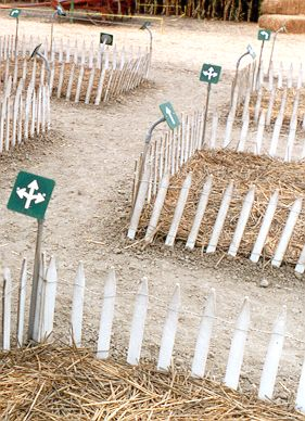 Arrow maze at Camarillo, California